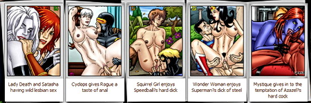 Scarlet Witch porncomics - Avengers Porn Leandro Comics Scarlet Witch sex The Vision porn X-Men Sex