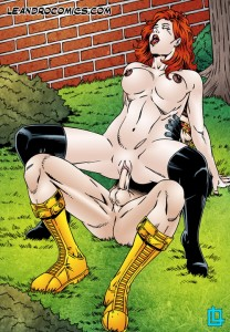 Cyclops fucks Jean Grey