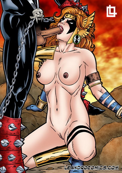 Angela loves Spawn - The Spawn porn comics