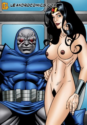 Wonder Woman sucks Darkseid's cock - Leandro Comics Wonder Woman sex