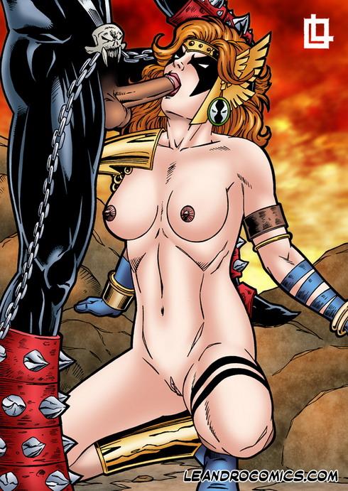 Angela loves Spawn - Angela sex Leandro Comics Spawn Sex