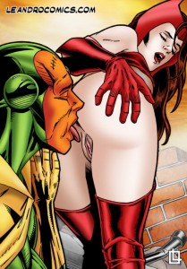 Sex Comics powered by Leandro. Scarlet Witch