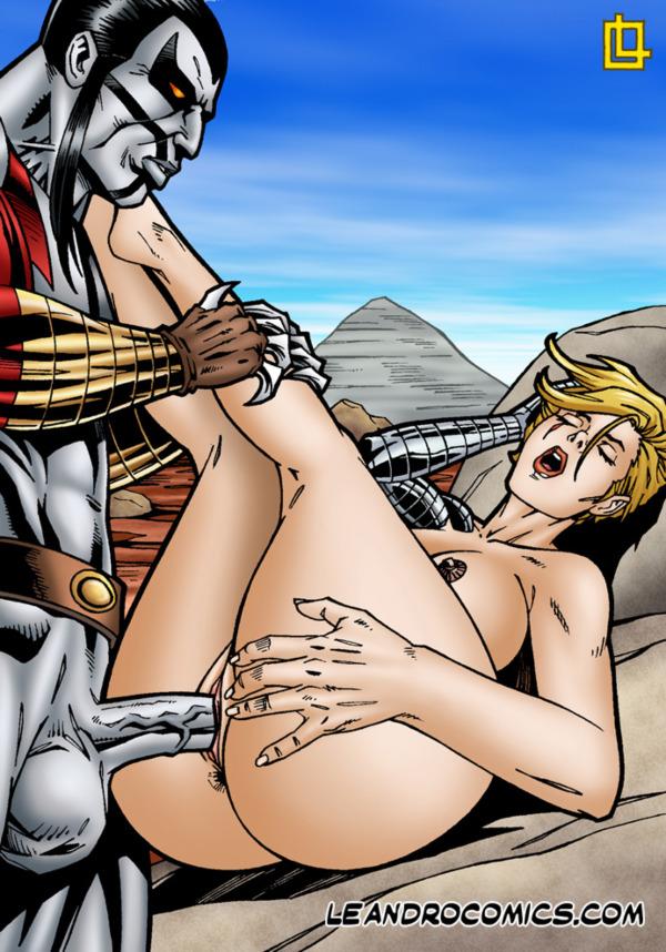 Blonde wonder woman sucks dildo and wants cum on nice tits 8