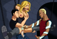 Black Canary porno comix - Black Canary sex Justice League Porn Leandro Comics