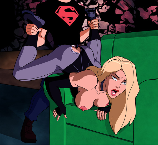 Black Canary porno comix