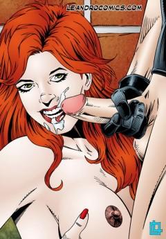 Cyclops porn comics - Cyclops Jean Grey Leandro Comics X-Men Sex