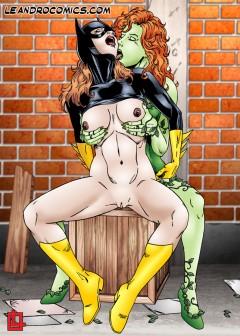Poison Ivy xxx story - Batman Porn Comics Poison Ivy porn