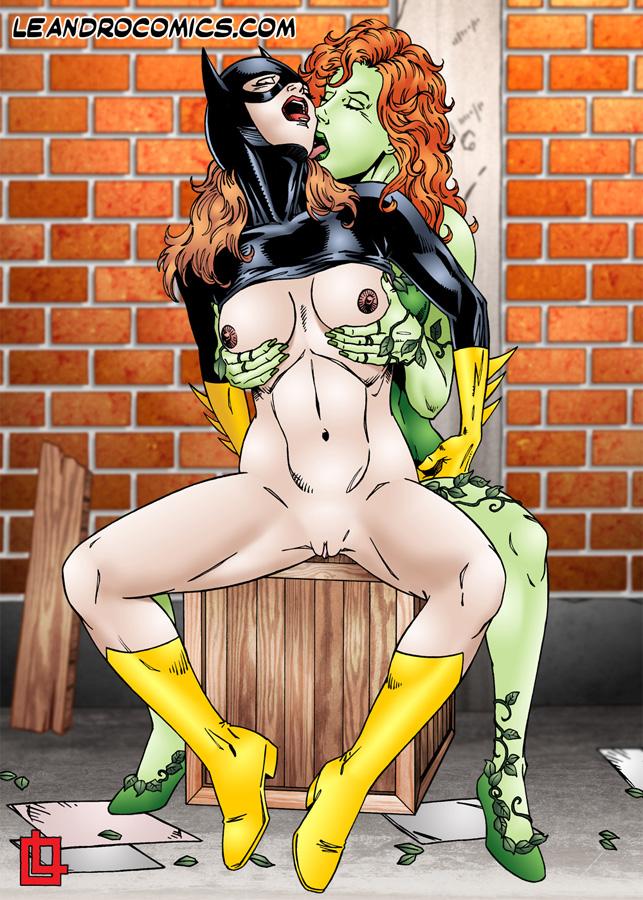 Fill Batgirl nude having sex really