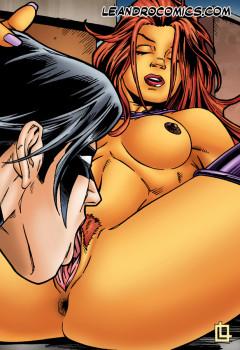 Starfire sex story - Starfire sex