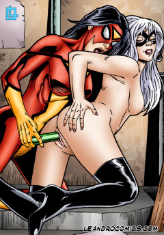 Spider Woman XXX Comics - Spider Woman sex